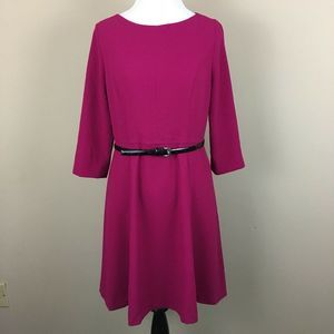 Eliza J Shift Dress w/ Belt